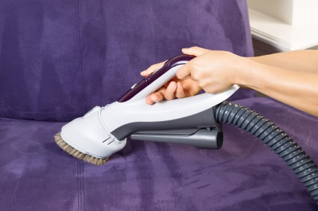 Upholstery cleaning in Jacksonville by Absolute Clean Air, LLC