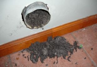 Dryer vent cleaning in Jacksonville Florida by Absolute Clean Air, LLC
